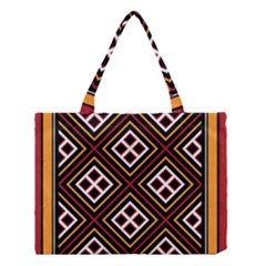 Toraja Pattern Pa re po  Sanguba ( Dancing Alone ) Medium Tote Bag by BangZart