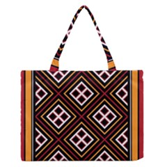 Toraja Pattern Pa re po  Sanguba ( Dancing Alone ) Medium Zipper Tote Bag