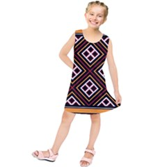 Toraja Pattern Pa re po  Sanguba ( Dancing Alone ) Kids  Tunic Dress
