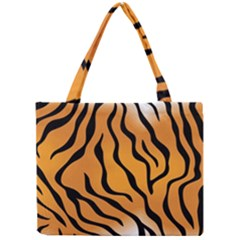 Tiger Skin Pattern Mini Tote Bag