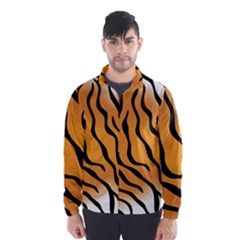 Tiger Skin Pattern Wind Breaker (men)