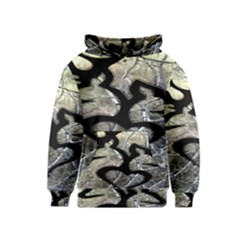 Black Love Browning Deer Camo Kids  Pullover Hoodie