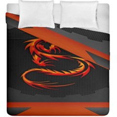 Dragon Duvet Cover Double Side (king Size) by BangZart