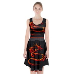 Dragon Racerback Midi Dress