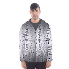 Science Formulas Hooded Wind Breaker (men) by BangZart