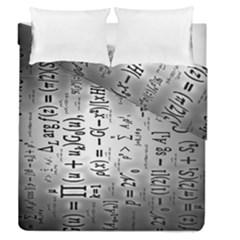 Science Formulas Duvet Cover Double Side (queen Size)