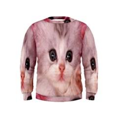 Cat  Animal  Kitten  Pet Kids  Sweatshirt