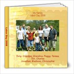 Labor day - 8x8 Photo Book (20 pages)