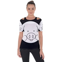 Pig Logo Short Sleeve Top