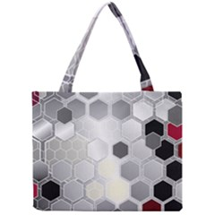 Honeycomb Pattern Mini Tote Bag