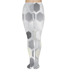 Honeycomb Pattern Women s Tights
