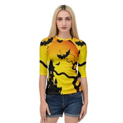Halloween Night Terrors Quarter Sleeve Tee