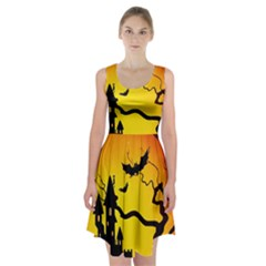 Halloween Night Terrors Racerback Midi Dress