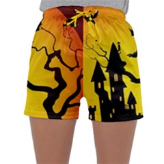 Halloween Night Terrors Sleepwear Shorts by BangZart