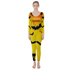 Halloween Night Terrors Long Sleeve Catsuit by BangZart