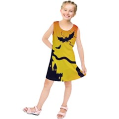 Halloween Night Terrors Kids  Tunic Dress