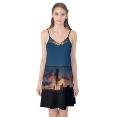 Art Sunset Anime Afternoon Camis Nightgown