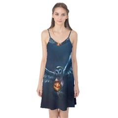 Owl And Fire Ball Camis Nightgown