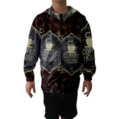 Coffee House Hooded Wind Breaker (kids)