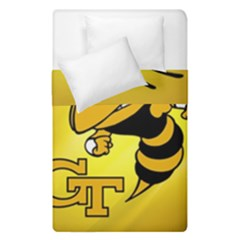 Georgia Institute Of Technology Ga Tech Duvet Cover Double Side (single Size)