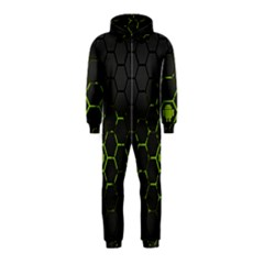 Green Android Honeycomb Gree Hooded Jumpsuit (kids) by BangZart
