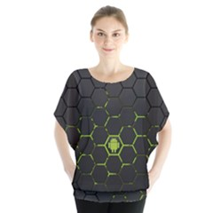 Green Android Honeycomb Gree Blouse