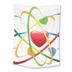 Love Medium Tapestry