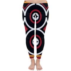Toraja Pattern Ne limbongan Classic Winter Leggings