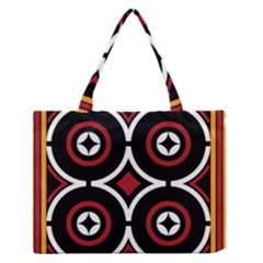 Toraja Pattern Ne limbongan Medium Zipper Tote Bag