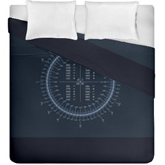 Minimalistic Knowledge Mathematics Trigonometry Duvet Cover Double Side (king Size) by BangZart