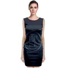 Minimalistic Knowledge Mathematics Trigonometry Classic Sleeveless Midi Dress