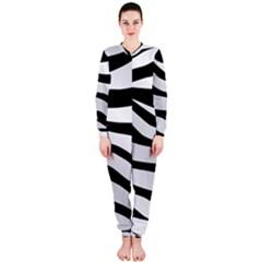 White Tiger Skin Onepiece Jumpsuit (ladies)