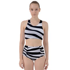 White Tiger Skin Bikini Swimsuit Spa Swimsuit