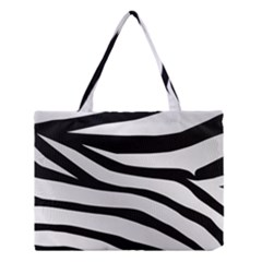 White Tiger Skin Medium Tote Bag