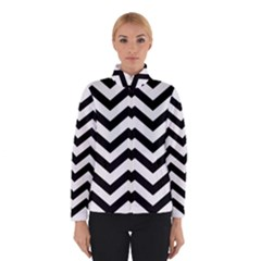 Black And White Chevron Winterwear