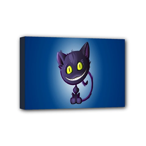 Funny Cute Cat Mini Canvas 6  X 4