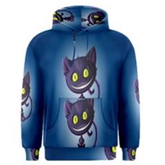 Funny Cute Cat Men s Pullover Hoodie