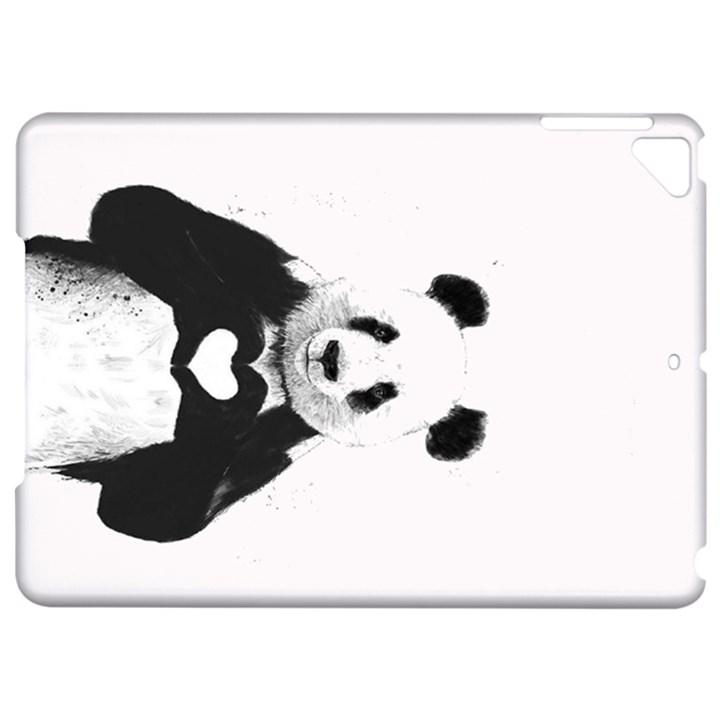 Panda Love Heart Apple iPad Pro 9.7   Hardshell Case