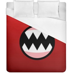 Funny Angry Duvet Cover (california King Size)