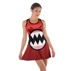 Funny Angry Cotton Racerback Dress