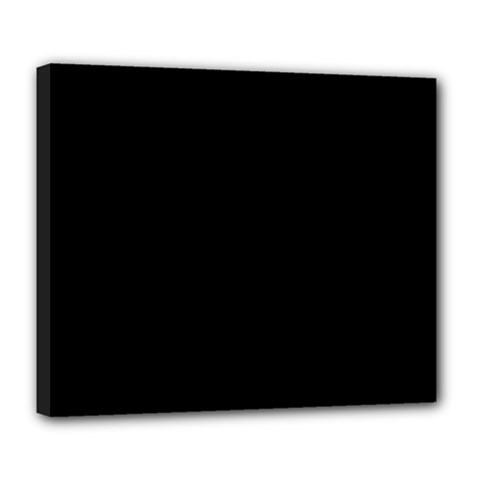 Black Deluxe Canvas 24  X 20   by BangZart