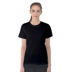 Black Women s Cotton Tee