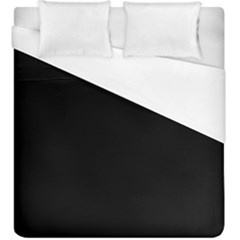 Black Duvet Cover (king Size)