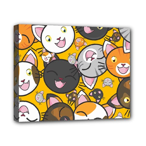 Cats Cute Kitty Kitties Kitten Canvas 10  X 8