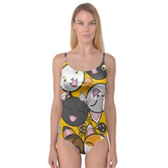 Cats Cute Kitty Kitties Kitten Camisole Leotard