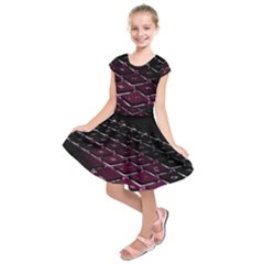 Computer Keyboard Kids  Short Sleeve Dress