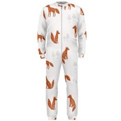 Fox Animal Wild Pattern Onepiece Jumpsuit (men)  by BangZart