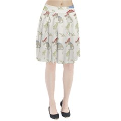Dinosaur Art Pattern Pleated Skirt