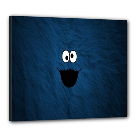 Funny Face Canvas 24  X 20