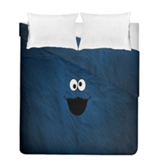 Funny Face Duvet Cover Double Side (full/ Double Size) by BangZart